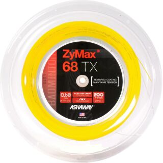 VICTOR ASHAWAY Zymax 68 TX yellow 200m Rolle