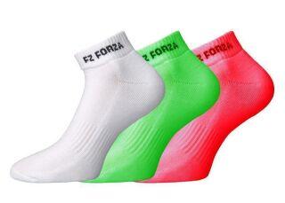 FORZA comfort Sock short 3-Pack multicolor