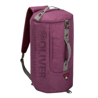 OLIVER Dufflebag bordeaux