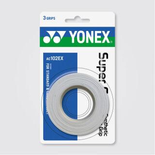 YONEX SUPER GRAP Synthetic Grip Wrap (3-er)