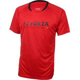 FORZA Male Bling T-Shirt chinese red