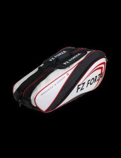 FZ FORZA Mars Racket Bag (9 rackets) black-white-red