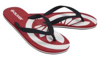 OLIVER Flip-Flops red-black 40 - 41