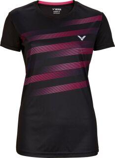 VICTOR Shirt Teamwear black T-04101 female 40