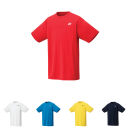 YONEX Herren T-Shirt, Club Team YM0023 sunset red  XS