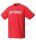 YONEX Herren T-Shirt, Club Team YM0024 sunset red S
