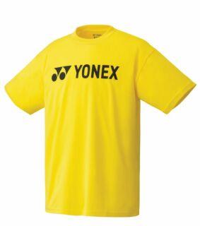 YONEX Herren T-Shirt, Club Team YM0024 yellow M