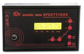 ESD Sporttimer mit LCD Anzeige, variable Zeiten / Sporttimer tQv