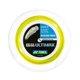 YONEX BG 66 Ultimax Coil yellow 200m