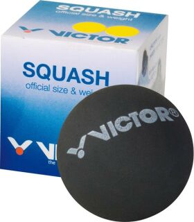 VICTOR Squashball new double yellow dot (very slow)