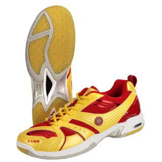 OLIVER CX 500 INDOOR Badmintonschuh rot-gelb 37