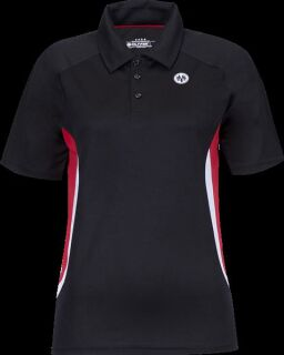 OLIVER Mexico Polo black-red