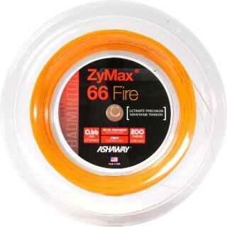 VICTOR ASHAWAY Zymax 66 fire power orange 200m Rolle