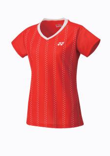 Womens Cap Sleeve Top Sunset Red XXL