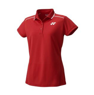 YONEX 20369 Lady Polo Shirt sunset red