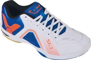 VICTOR SH-S61 white blue Badmintonschuh Gr. 45.5