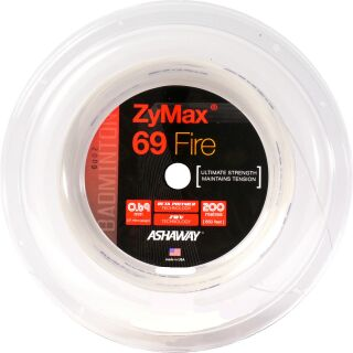 VICTOR ASHAWAY Zymax 69 fire white 200m Rolle