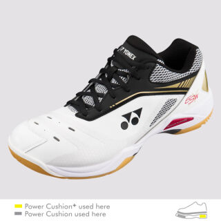 YONEX Power Cushion 65 XW white/gold